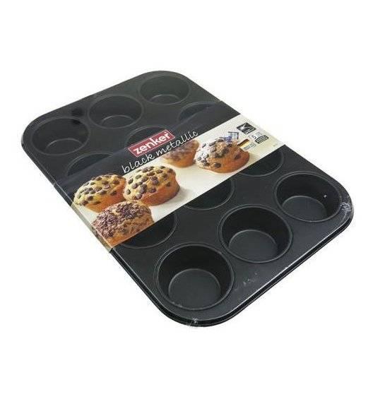 ZENKER Forma do muffinek / 12 sztuk / wymiary 38x26 cm / tworzywo sztuczne