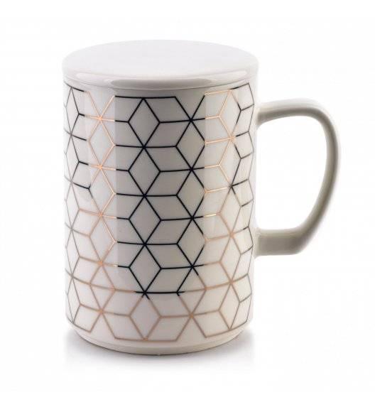 AFFEKDESIGN CHIC GEO Kubek z pokrywką 460 ml / porcelana