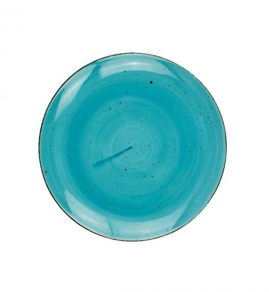 LUBIANA BOSS 6630L Talerz deserowy 20,5 cm / morski / porcelana ręcznie malowana