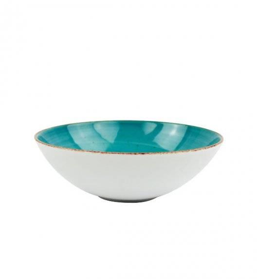LUBIANA BOSS 6630L Talerz głęboki 18 cm / morski / porcelana ręcznie malowana