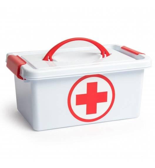 PLASTIC FORTE Apteczka / Pojemnik na lekarstwa / 29x18,5x13 / tworzywo sztuczne
