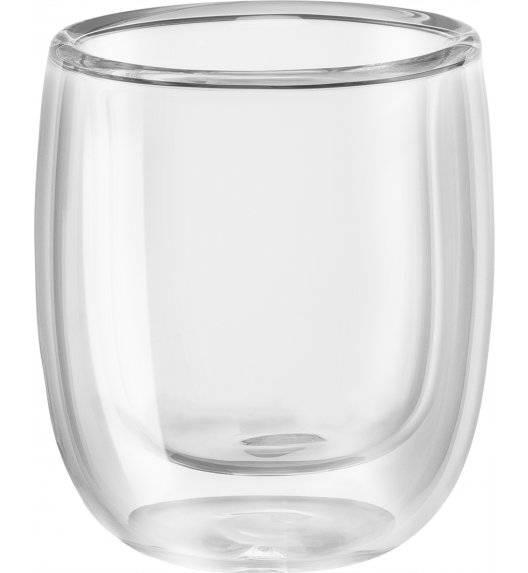 ZWILLING SORRENTO Zestaw dwóch szklanek do espresso / 80 ml / szkło