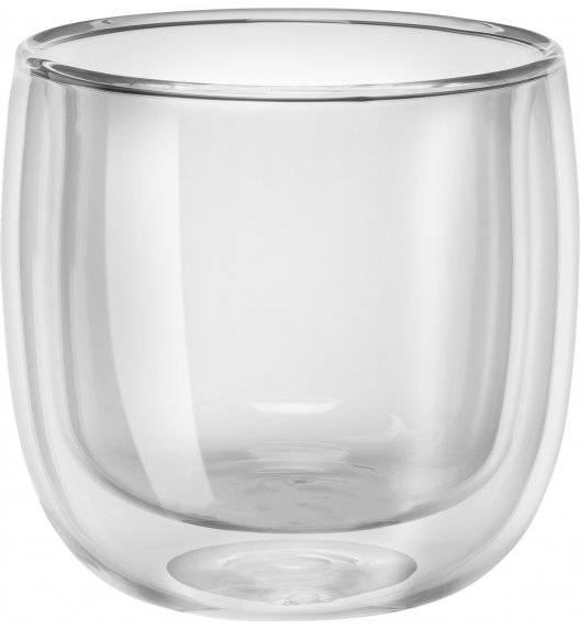 ZWILLING SORRENTO Zestaw dwóch szklanek do herbaty / 240 ml / szkło