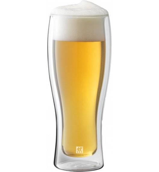 ZWILLING SORRENTO BAR Zestaw dwóch szklanek do piwa / 414 ml / szkło