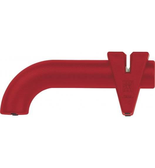 ZWILLING TWIN SHARP krążkowa ostrzałka do noży / czerwony / stal, ceramika, tworzywo sztuczne