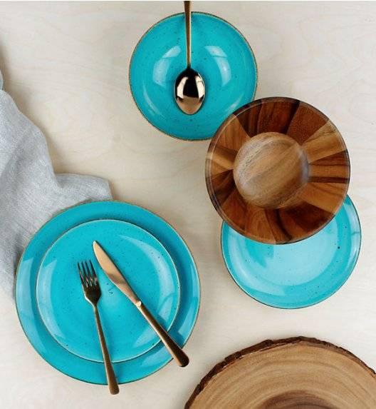 LUBIANA BOSS 6630L Serwis obiadowy 72 el / 24 osoby / morski / porcelana ręcznie malowana