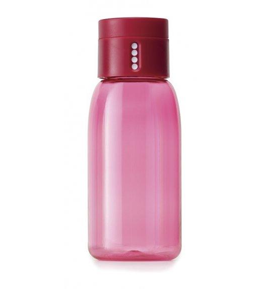 WYPRZEDAŻ! JOSEPH JOSEPH Butelka na wodę 400 ml DOT Różowa / Btrzy