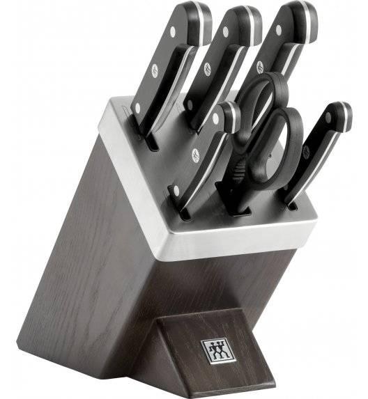 ZWILLING GOURMET Zestaw 5 noży w bloku samoostrzącym / stal nierdzewna, tworzywo sztuczne