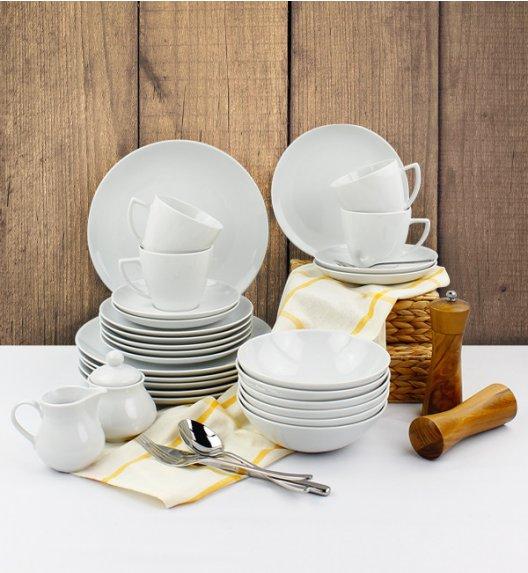 LUBIANA BOSS BEATA Serwis obiadowo - kawowy 37 el / 6 osób / porcelana