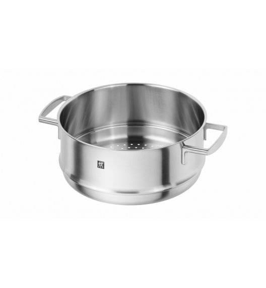 ZWILLING VITALITY wkład do gotowania na parze / 24 cm / stal nierdzewna, szkło
