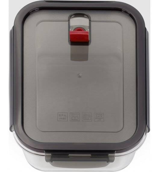 ZWILLING GUSTO Pojemnik szklany prostokątny 1,4 L / szkło, tworzywo sztuczne