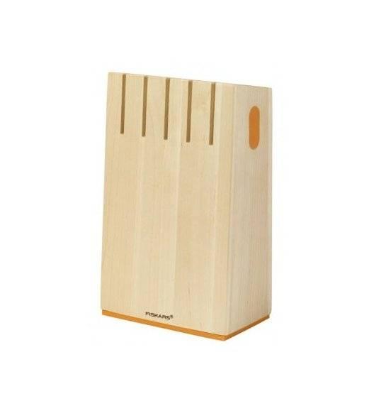 FISKARS FUNCTIONAL FORM 1014228 Pusty blok na 5 noży / drewno brzozowe