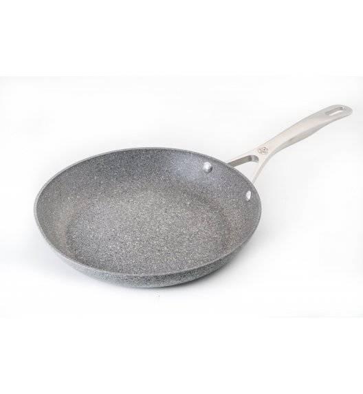BALLARINI TORINO Patelnia granitowa / Ø 26 cm / stal nierdzewna, aluminium