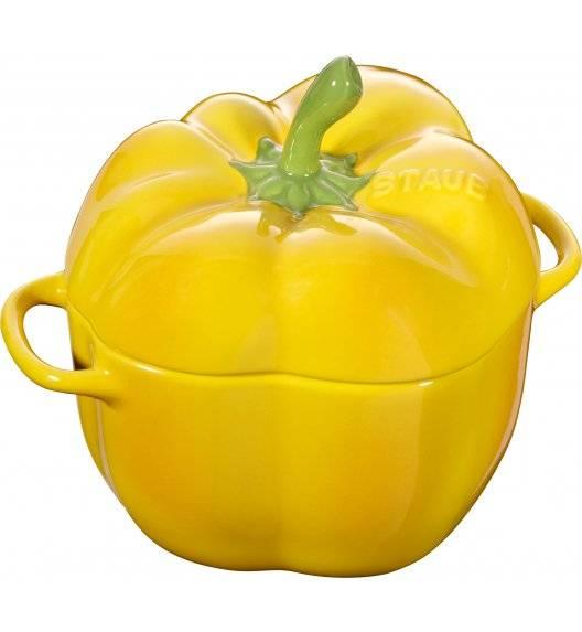STAUB SPECIAL COCOTTE Naczynie żaroodporne papryka / 450 ml / żółty / ceramika