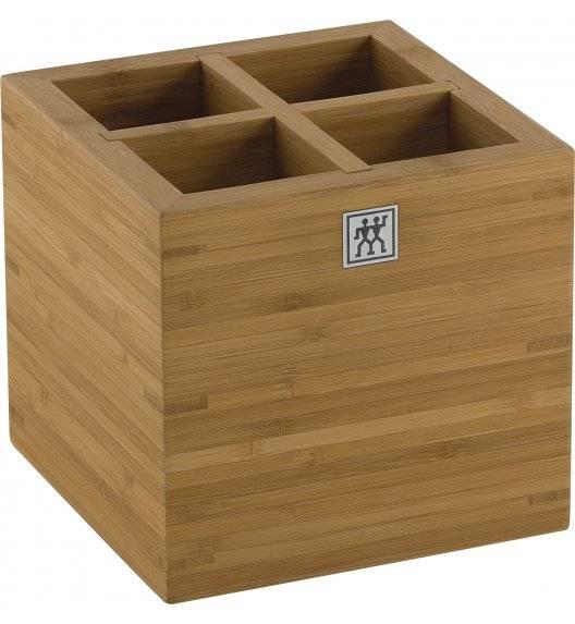 ZWILLING STORAGE Bambusowy pojemnik na akcesoria / 16 cm / drewno
