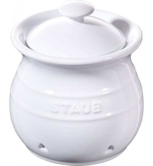 STAUB STORAGE Pojemnik do przechowywania czosnku / 500 ml / biały / ceramika