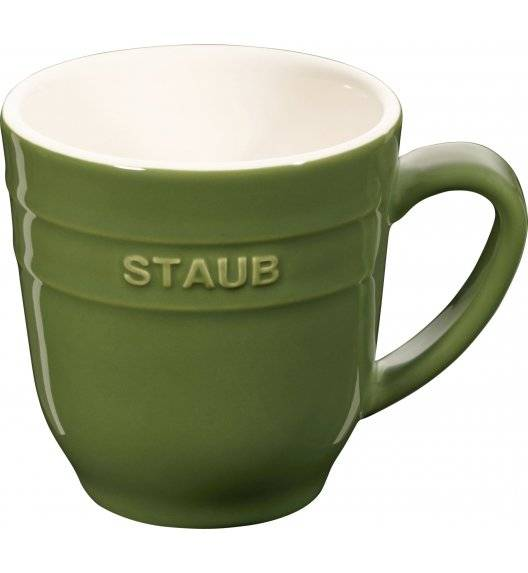 STAUB SERVING Kubek ceramiczny / 350 ml / zielony / ceramika