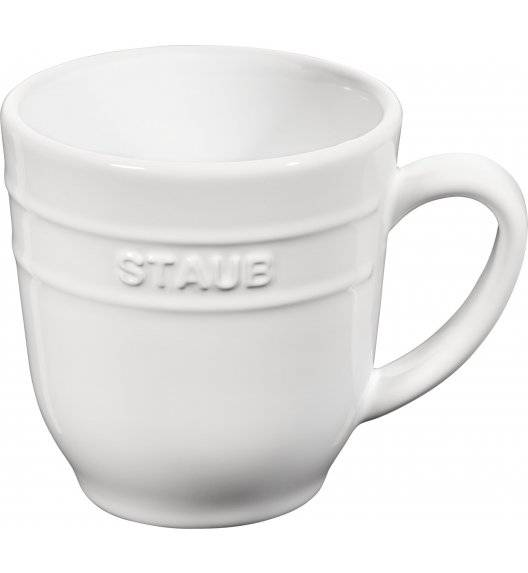 STAUB SERVING Kubek ceramiczny / 350 ml / biały / ceramika