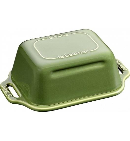STAUB SERVING Maselniczka / zielony / ceramika