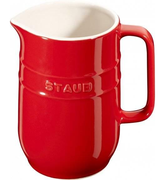 STAUB SERVING Dzbanek ceramiczny / 1 l / czerwony / ceramika