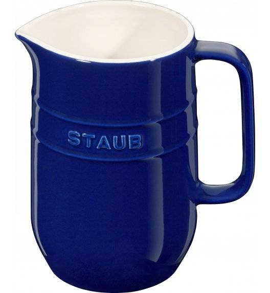 STAUB SERVING Dzbanek ceramiczny / 1 l / niebieski / ceramika