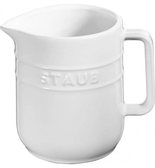 STAUB SERVING Dzbanuszek do mleka / 250 ml / biały / ceramika
