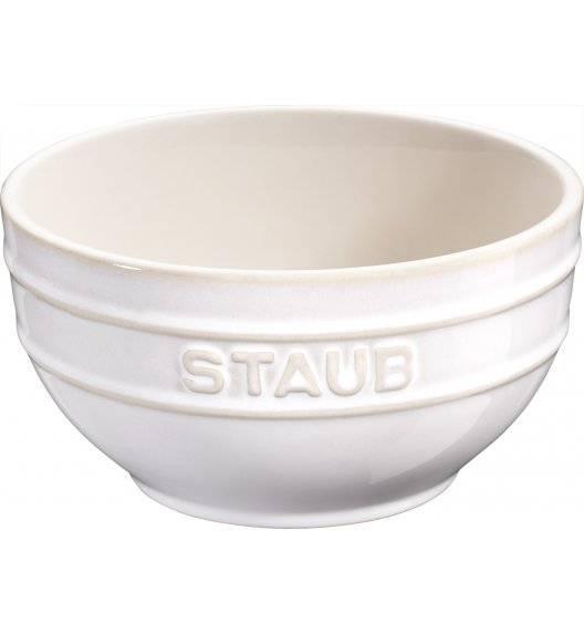 STAUB SERVING Miska okrągła / Ø 12 cm / 0,4 l / kość słoniowa / ceramika
