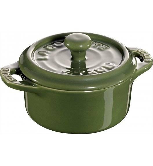 STAUB GIFT GIVING Garnek okrągły do serwowania / 200 ml / zielony / ceramika