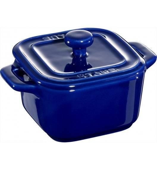 STAUB XS-MINIS Garnek do serwowania / 2 sztuki / 125 ml / niebieski / ceramika