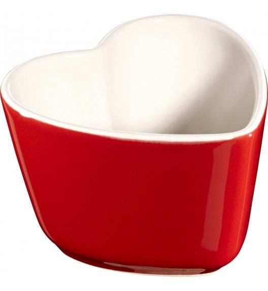 STAUB XS-MINIS Ramekin w kształcie serca / 2 sztuki / 100 ml / czerwony / ceramika