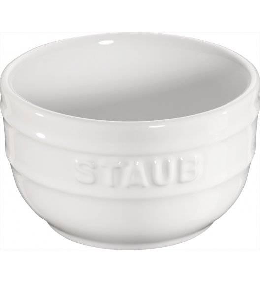 STAUB XS-MINIS Ramekin okrągły / 2 sztuki / 200 ml / biały / ceramika