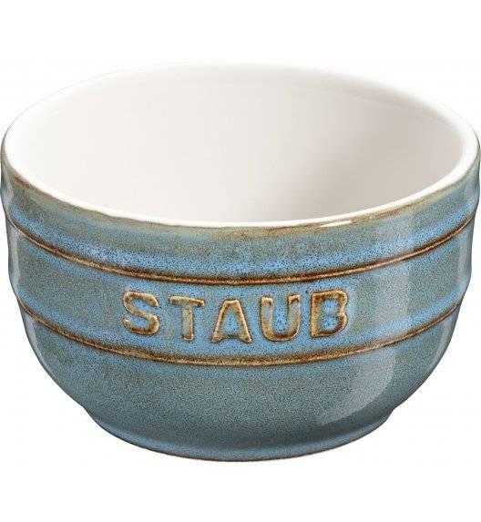 STAUB XS-MINIS Ramekin okrągły / 2 sztuki / 200 ml / antyczny turkusowy / ceramika
