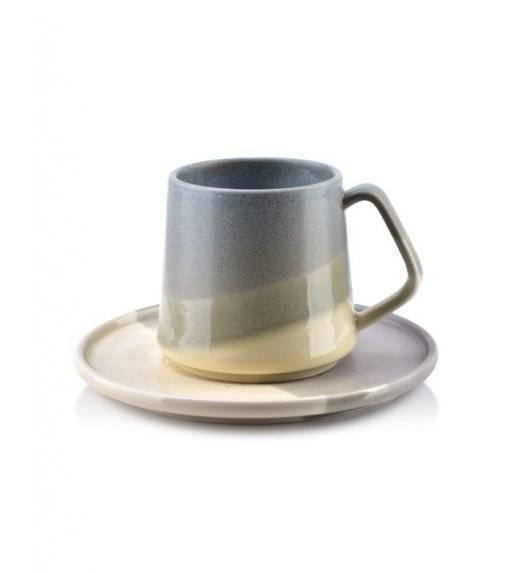 AFFEKDESIGN STONE Filiżanka ze spodkiem / szary, beż / 250 ml / porcelana