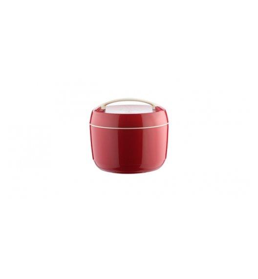 WYPRZEDAŻ! TESCOMA FAMILY Termobox 2,5 l - termos obiadowy / czerwony / tworzywo sztuczne