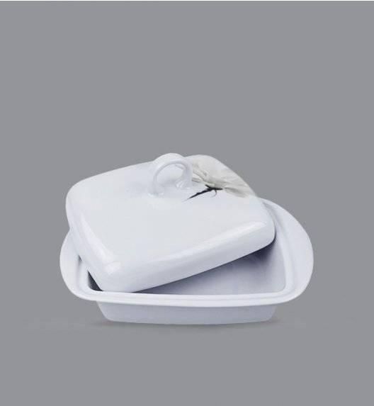 LUBIANA MAGNOLIA 6474 Maselnica 17 x 12 cm + pokrywka / 2 el / porcelana