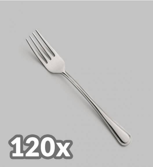 AMEFA BOLOGNA Sztućce UE 120x Widelec obiadowy LUZ / połysk