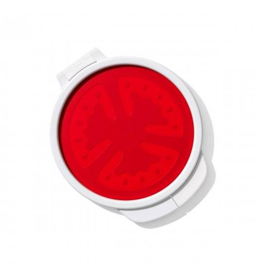OXO GOOD GRIPS Pojemnik osłonka do pomidora / czerwony, biały / tworzywo sztuczne