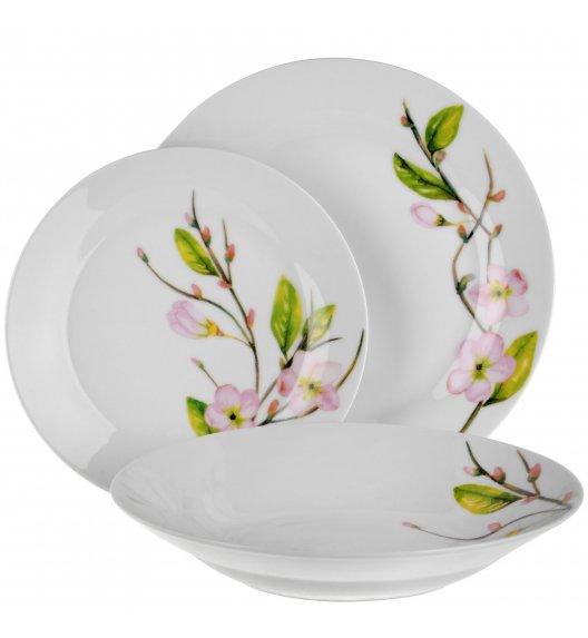 TADAR LINA Serwis obiadowy 54 elementów dla 18 osób / ceramika