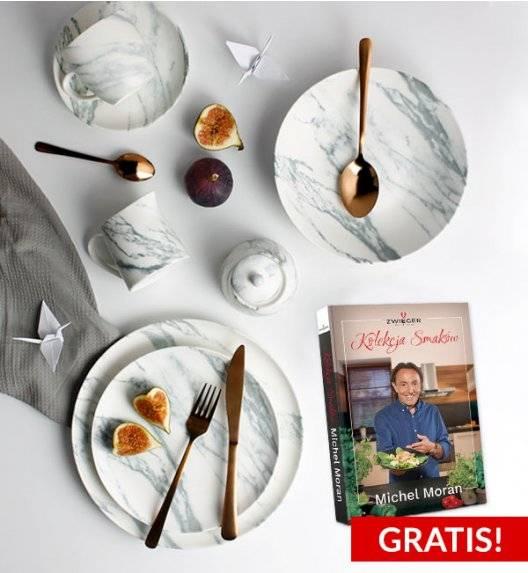 ZWIEGER MAVIS Serwis obiadowo - kawowy 64 el / 12 os porcelana + GRATIS KSIĄŻKA