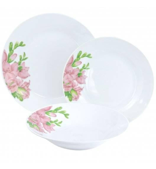 TADAR FREZJA Serwis obiadowy 72 elementy dla 24 osób / porcelana