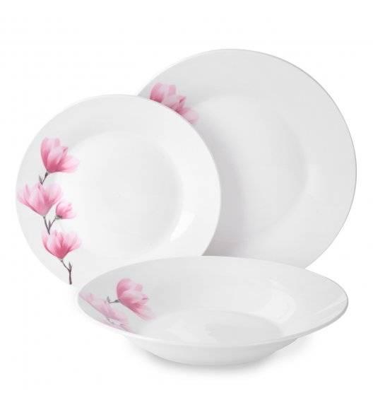TADAR MAGNOLIA Serwis obiadowy 36 elementów dla 12 osób / porcelana