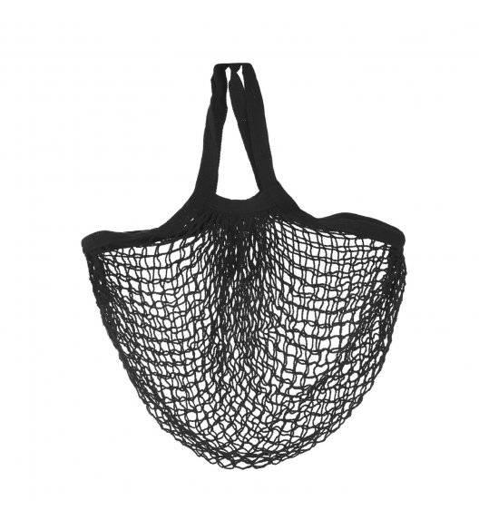 TADAR PARYŻANKA Bawełniana torba na zakupy 38 x 42 cm / czarny