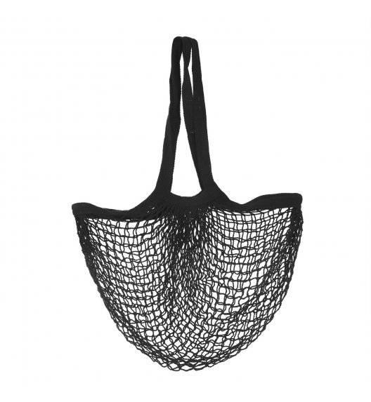 TADAR PARYŻANKA Bawełniana torba na zakupy 44 x 41 cm / czarna
