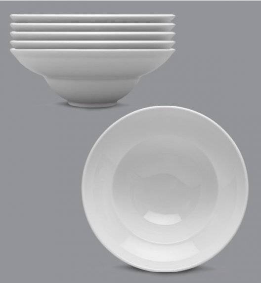 LUBIANA KASZUB Komplet talerze głębokie do pasty / makaronu 26 cm / 6 osób / 6 el / porcelana