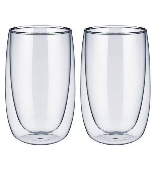 WESTMARK Komplet szklanek o podwójnych ściankach 400 ml / 2 elementy / szkło
