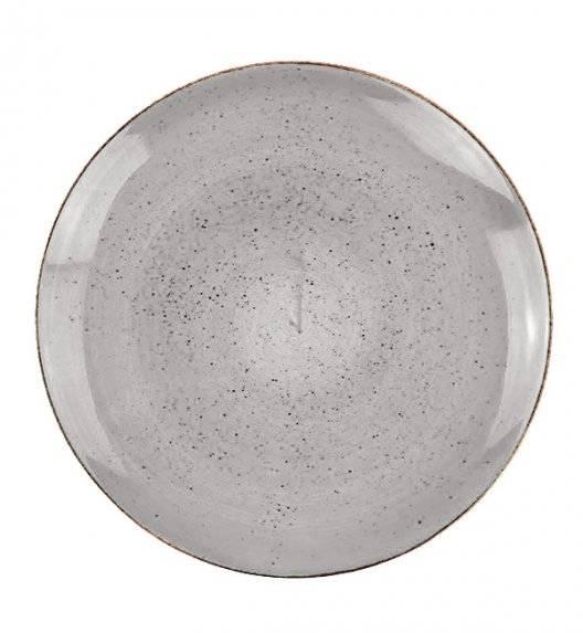 LUBIANA BOSS 6630Z Talerz obiadowy 27 cm / szary / porcelana ręcznie malowana