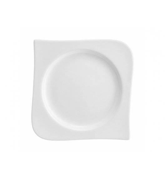 AMBITION FALA / KUBIKO Podstawka pod dzbanek / Talerz deserowy 15 x 15 cm / Porcelana