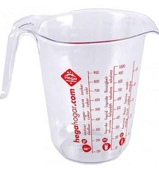 HEGA VIENA Uniwersalna miarka kuchenna / dzbanek 1,0 L / tworzywo sztuczne