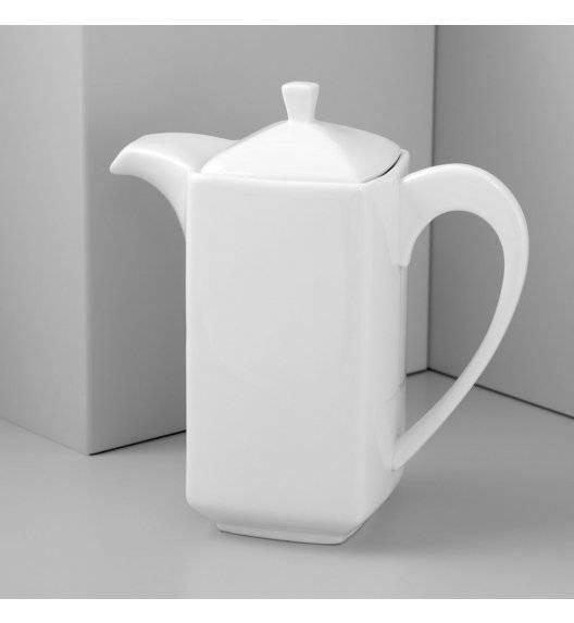 AMBITION PORTO Dzbanek z pokrywką 600 ml / Porcelana