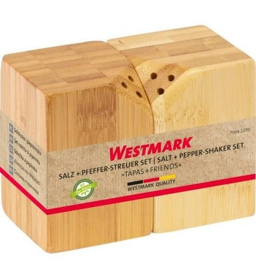 WESTMARK TAPAS+FRIENDS Zestaw solniczka / pieprzniczka, kwadratowy